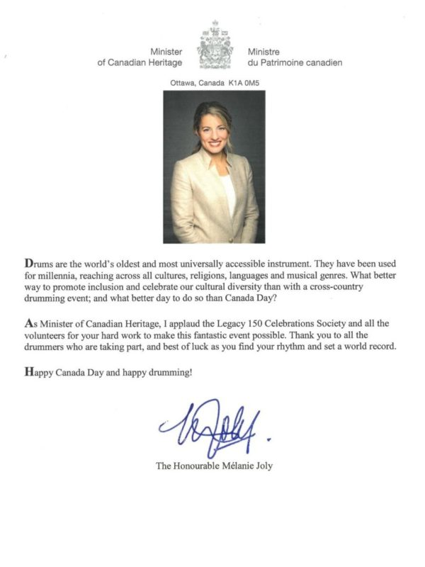 Message from the Honourable Mélanie Joly, Minister of Canadian Heritage